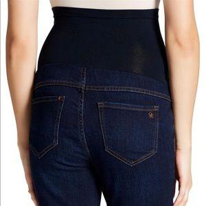 Jessica Simpson denim maternity skinny jeans!  S